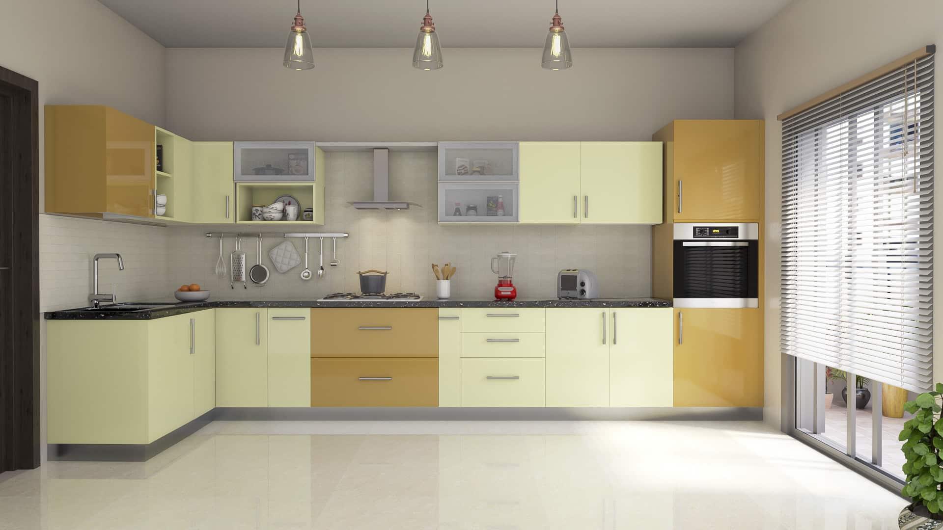 Modular Kitchen - Galaxy Modular