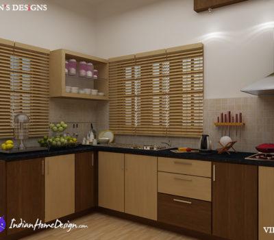 Modular Kitchen Design by Bibin Balan INTERIOR VIEW 1