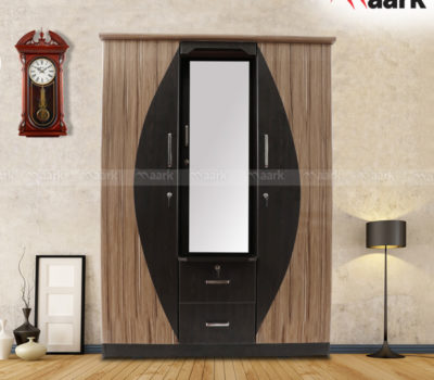 The Maark Center Classic Double Door Wardrobe